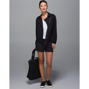 LULULEMON Soft Summer Jacket Black {G36}
